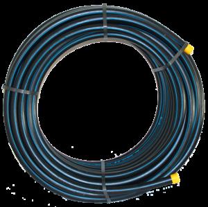 Tuyau polyéthylène bande bleue