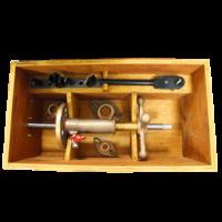 caisse en bois pour machine à percer