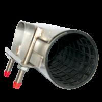 Manchon de réparation simple bande tout inox longueur 200 mm