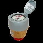 Compteur V210 pour regards coaxiaux laiton R160