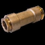 Manchon de réparation dissymétrique métrique / fer long à joint large
