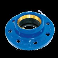 Adaptateur pour tuyaux PVC, PE verrouillé