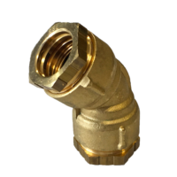 Raccord coudé 135° poly/poly joint large